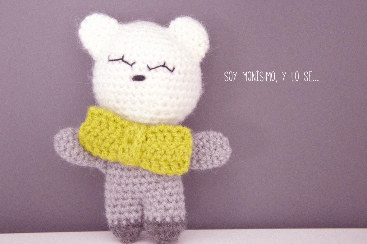 crochet #easycrochet #ositoamigurumi #patrongratis Patrón gratis de ...