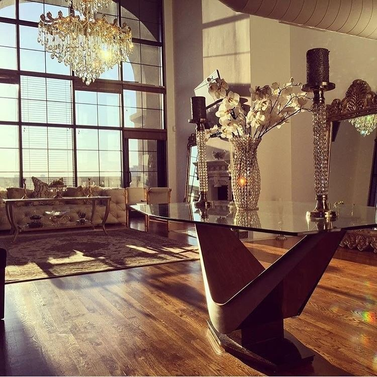 It\u0027s all about the bling in @samiraandco \u0027s home! Thank you for the