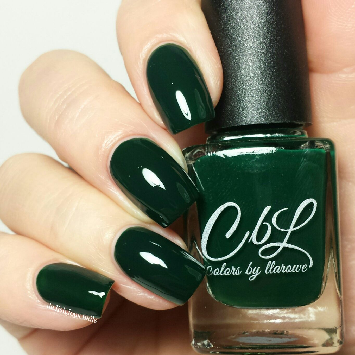 Emerald Isle - a deep emerald green crellie. Complete coverage in 2 ...