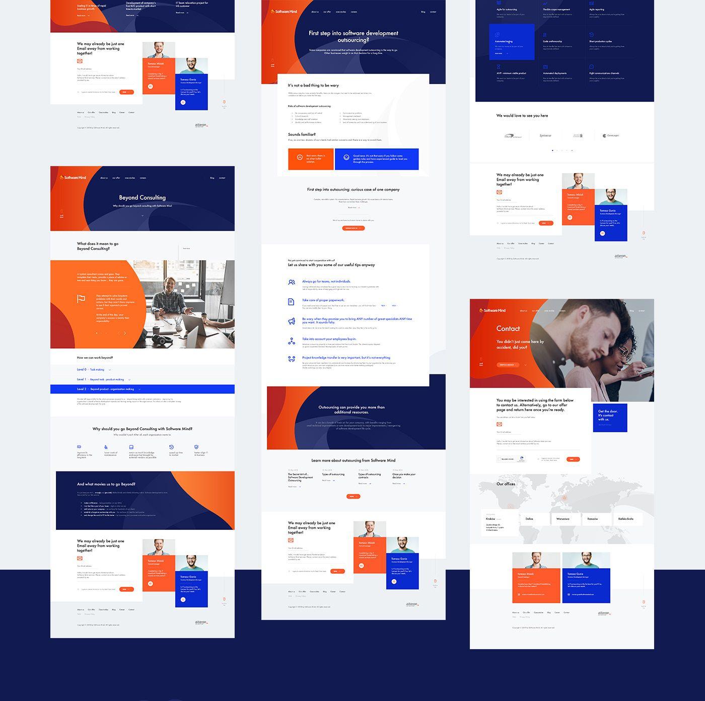 Web design process for software mind also screen modern rh pinterest