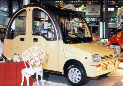 http://chicerman.com  carsthatnevermadeit:  Daihatsu Mira Milano concept 1991  #cars
