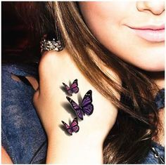 Photo of 3D Butterfly Tattoos