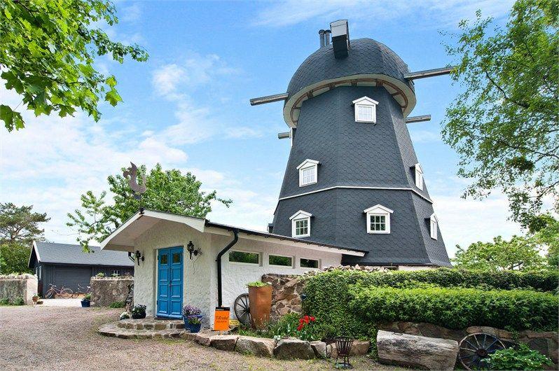 Windmill after renovation in Skåne – TimeForDeco.com