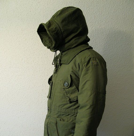 Canadian Army Parka Extreme Cold Weather Combat Parka Field Jacket