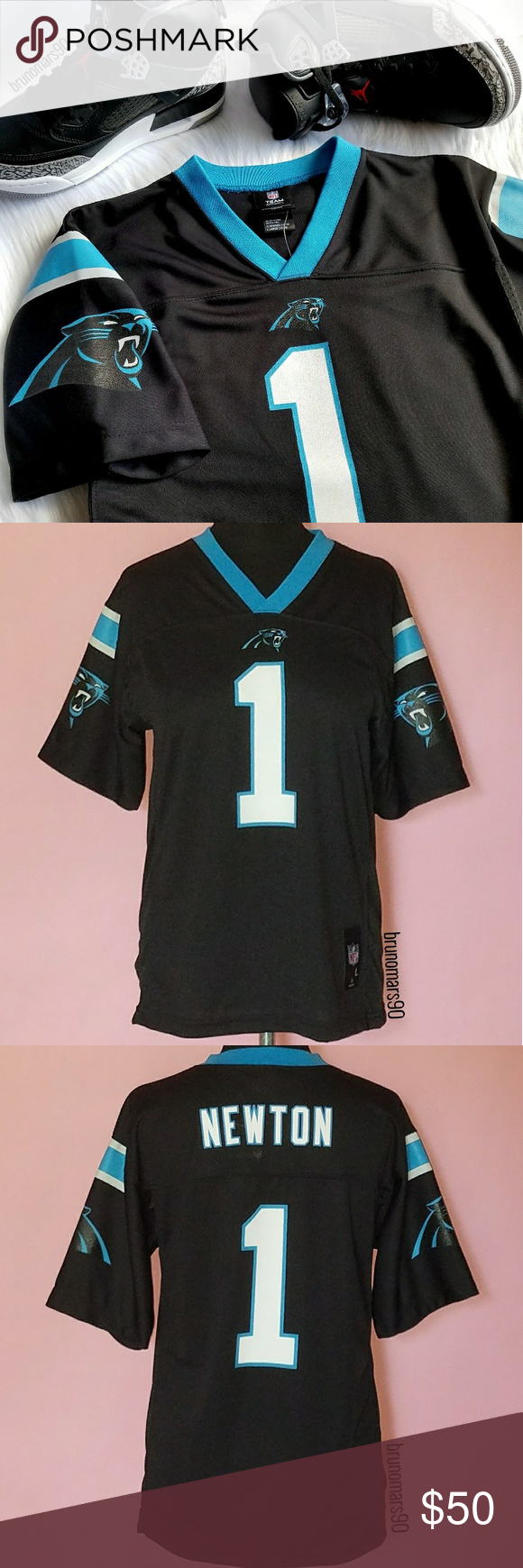 Cam Newton NFL Jersey NWT Dab into Superman s gear. Show them your  1  everytime d6a35384f