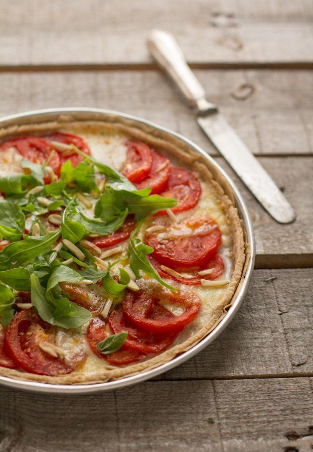 VANIGLIA - storie di cucina: Tarte semi-integrale con pomodori ...