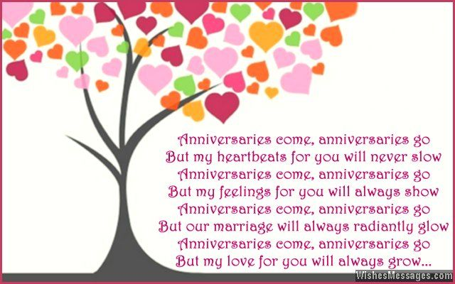 First Anniversary Poems For Wife Happy 1st Anniversary Poems For Her Anniversary Poems 1st Anniversary Cards Anniversary