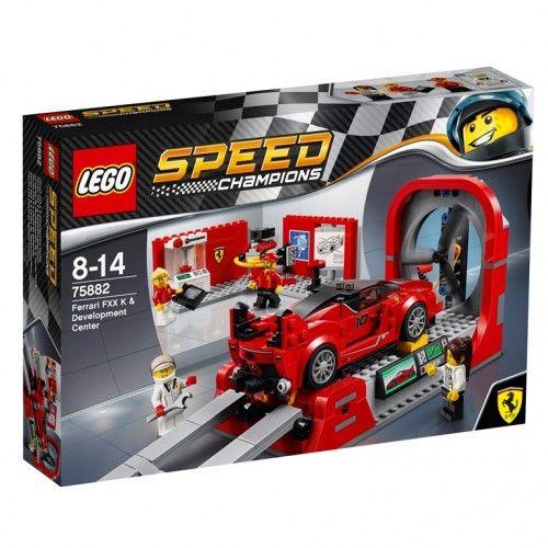 LEGO 75882 Ferrari FXX K & Development Center (Niet meer leverbaar) #ferrarifxx