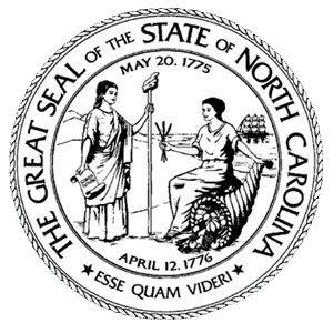 North Carolina State Seal North Carolina History North Carolina