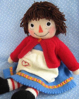 Flutterby Patch: knitting