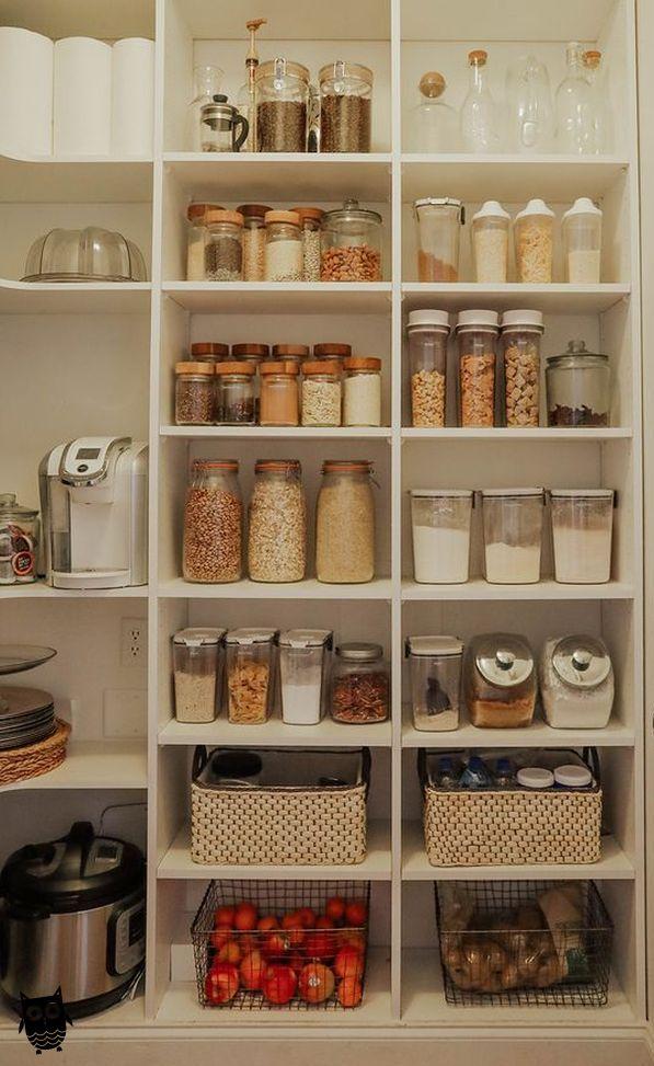 25 Best Pantry Organization Ideas We Found On Pinterest Kitchenorganization In 2020 Kitchen Pantry Design Kitchen Organization Pantry Pantry Design