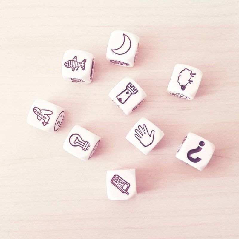 Jeu Story Cubes