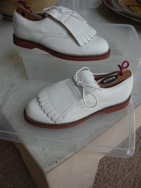 Ralph Lauren traditional golf shoes