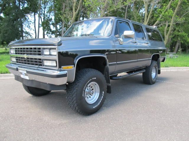 1989 chevy surburban diesel for sale used 1989 chevrolet. Black Bedroom Furniture Sets. Home Design Ideas