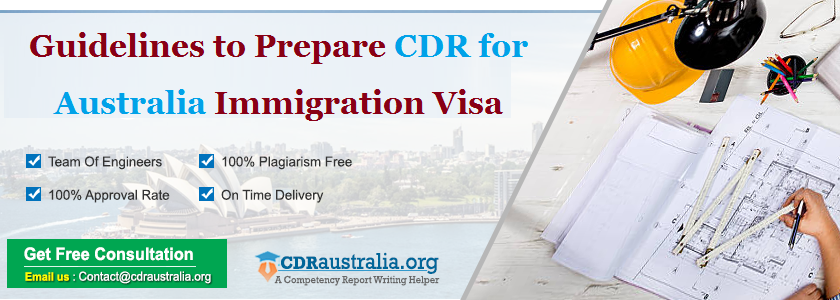 how to prepare cdr for australian immigration