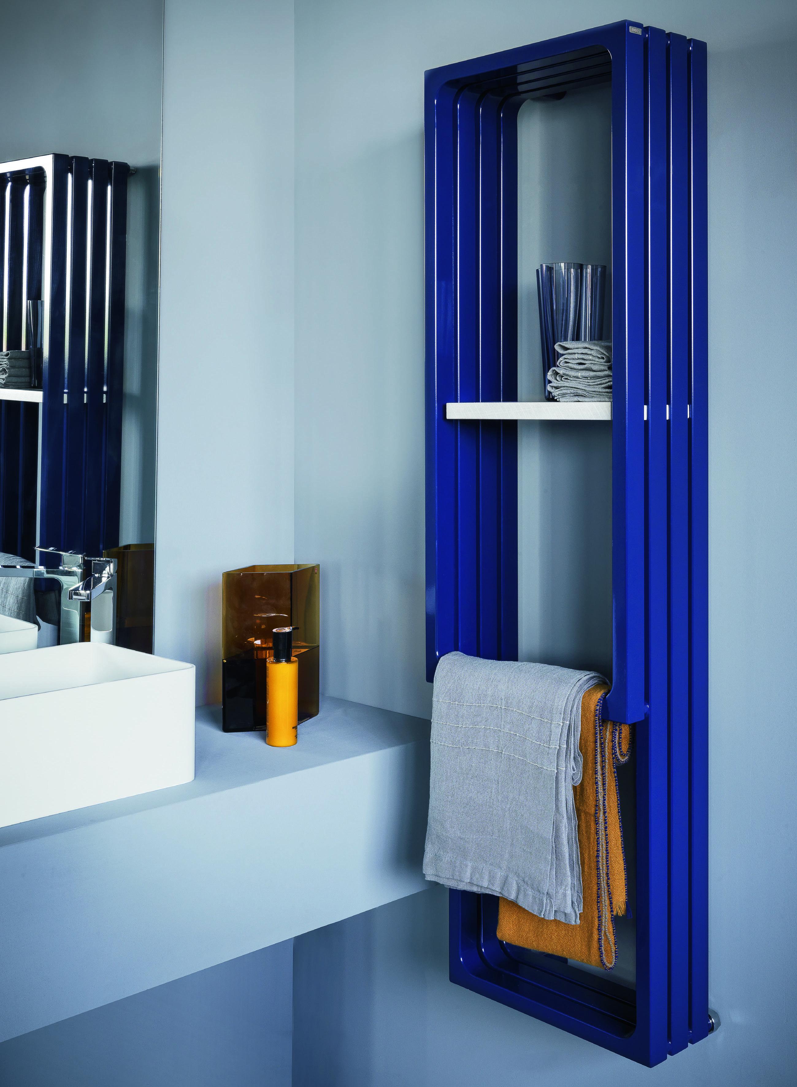 radiateur bleu tubes montecarlo sèche-serviettes porte serviette et ...
