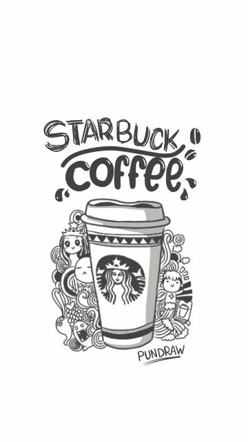 Starbuck draw | wonderful words | Starbucks wallpaper ...