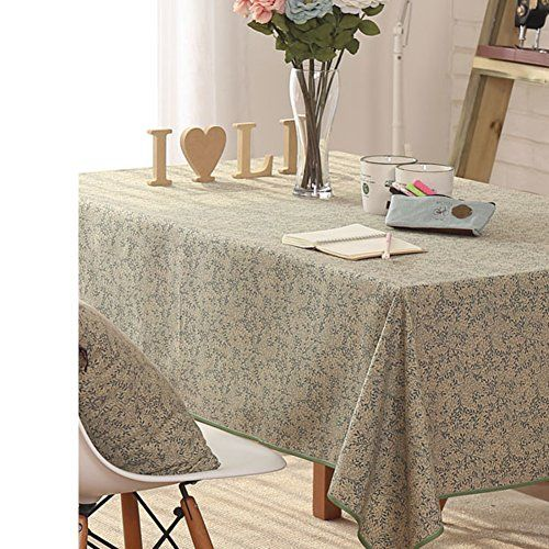 Vintage Pastoral Fabric Table Linen For Household Use Tea Table Cloth A 145x240cm 57x94inch Coffee Table Cover
