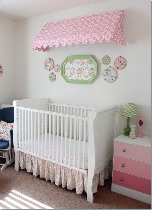Mirror Frame Turned Fabric Art Baby S Room Ideas