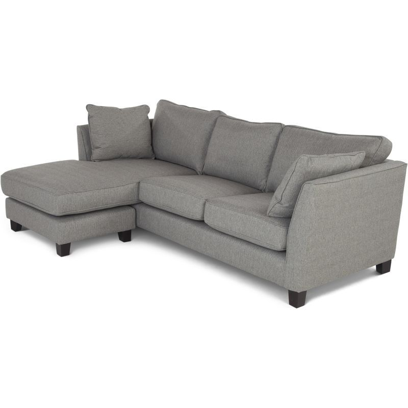 Wolseley Large Corner Sofa Sofa Herringbone Marl Grey From Made Com Created In Collaboration With Home Expert And Presenter Alison Cork The W Muebles Madera