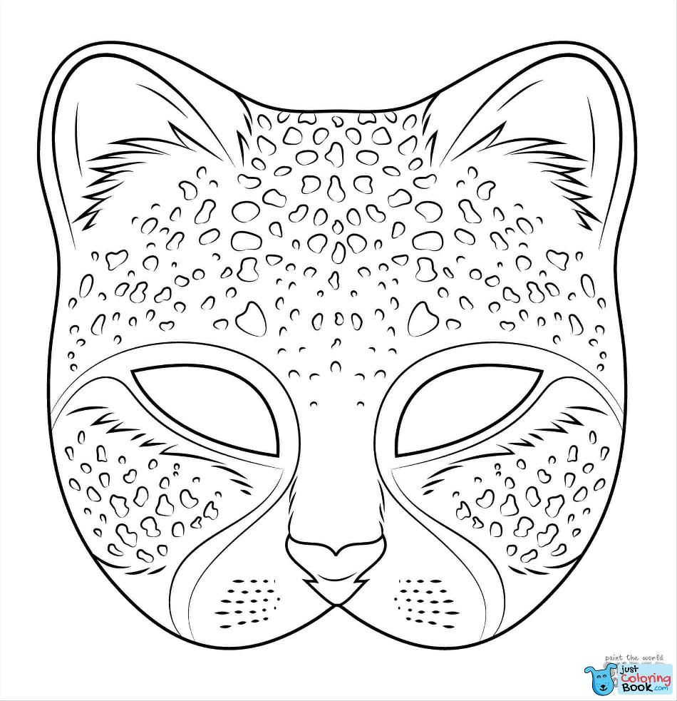 35 Coloring Pages Africa Coloring Mask Lion Coloring Pages