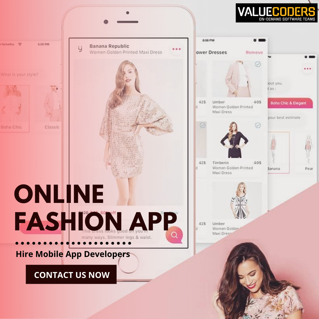Valuecoders Have Created An Online Fashion App Which Was Developed On Xamarin Platform Which Is Available For Ios As We In 2020 Fashion App Fashion Online Fashion