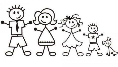 Resultado de imagem para familia desenho