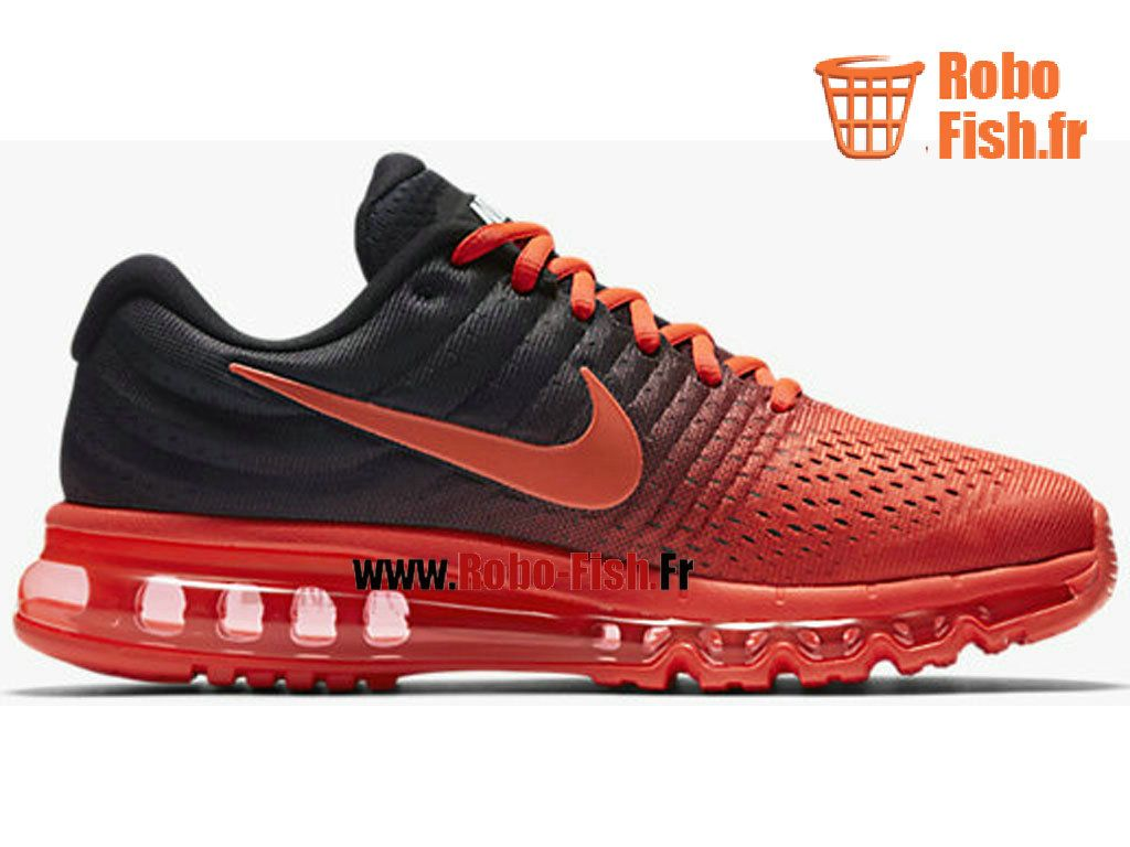 nike air max 2017 chaussure nike running pas cher pour homme rouge noir 849559 600 sneakers. Black Bedroom Furniture Sets. Home Design Ideas