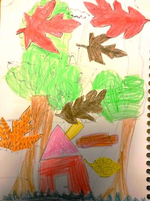Illustration po sie l 39 automne de maurice car me cp - L automne dessin ...