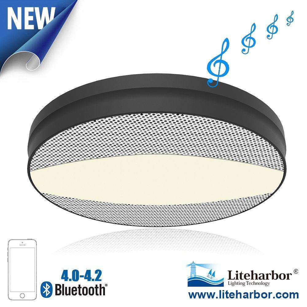 12w Ceiling Led Bluetooth Speaker Light From Liteharbor Can