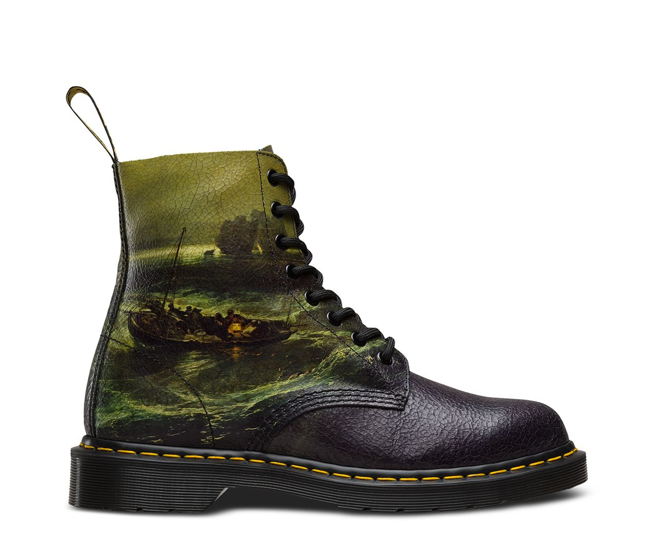 323a89bd4890f The 1460 Pascal is an 8-eye silhouette based on the original Dr. Martens  boot. The boot s iconic DNA looks like this  8-eyes