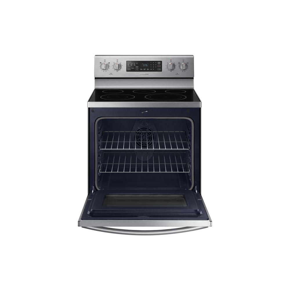 Samsung 30 in. 5.9 cu. ft. Single Oven Electric Range with