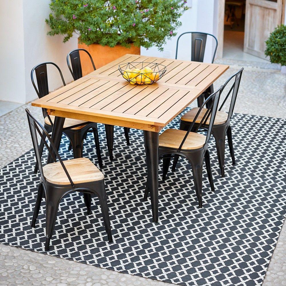 table chaise salon de jardin