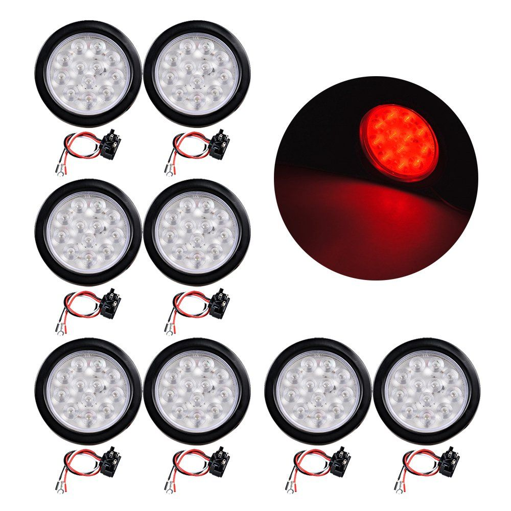 Universal Red 12 LED 4\