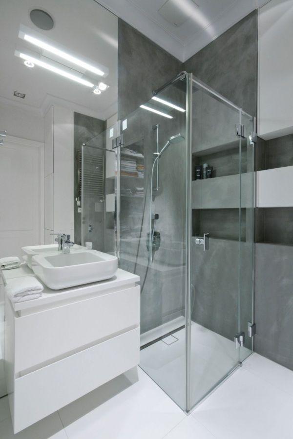 Glas Duschkabine Bad Design Penthaus Wohnung