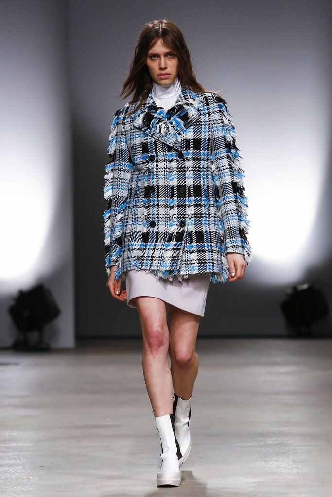 A look from the Creatures of the Wind Fall 2015 RTW collection.