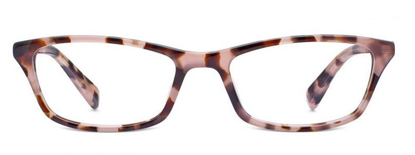 64ba577c101 Annette in petal tortoise via Warby Parker. These are my glasses! They  should be coming in the mail soon!
