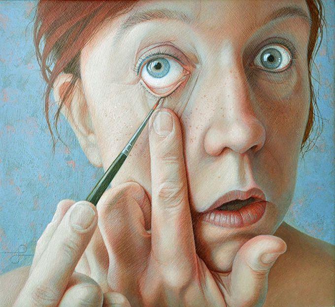 Painting by Jantina Peperkamp