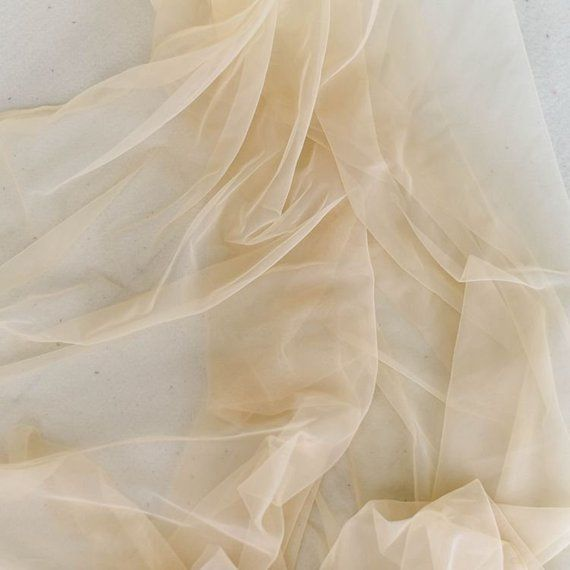 Super fine black soft delicate tulle fabric 150cm wide sold by the metre