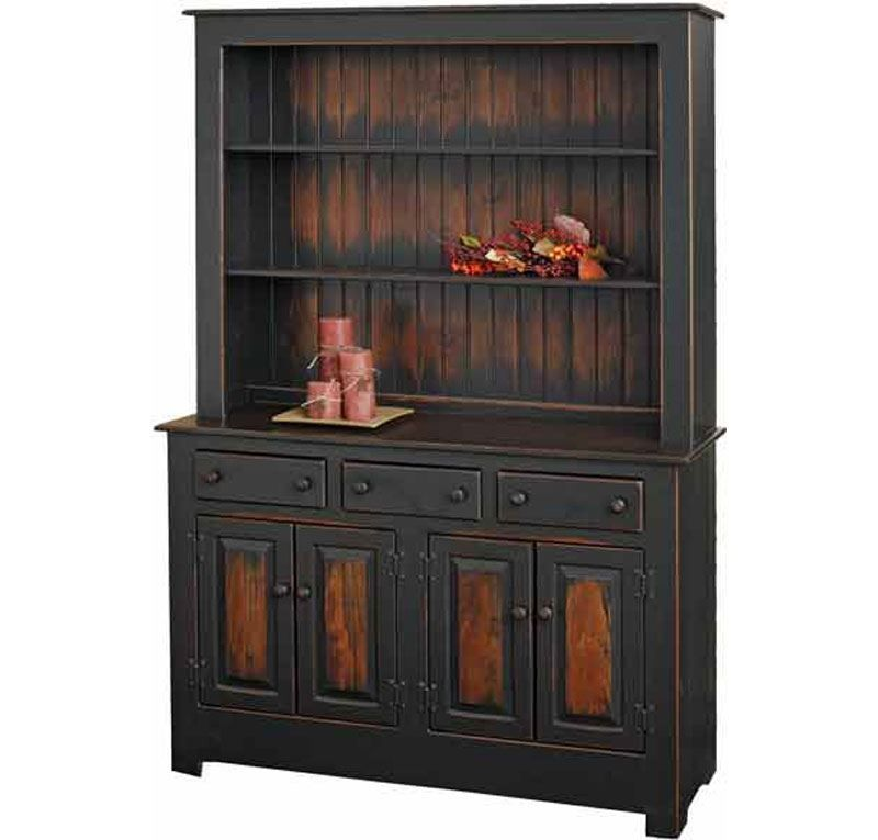 Amish China Cabinet For Sale