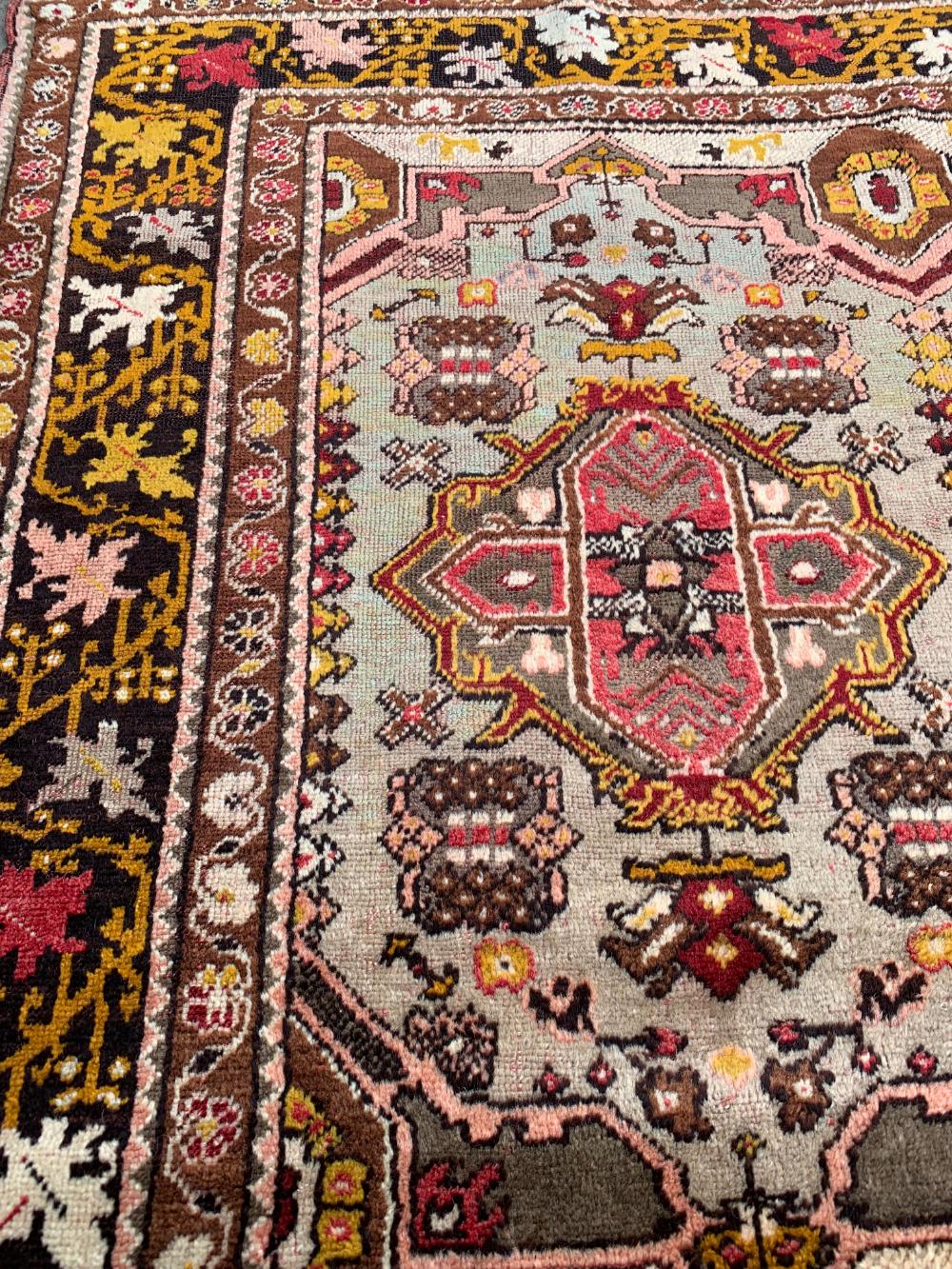 Vintage Handmade Geometric Design Village Faded Rug 4 6 6 6 Chairish Rugs Affordable Rugs Carpet Colors