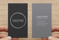 Business card printable premade template double sided calling card business card printable premade template double sided calling card digital download simple minimal reheart Gallery