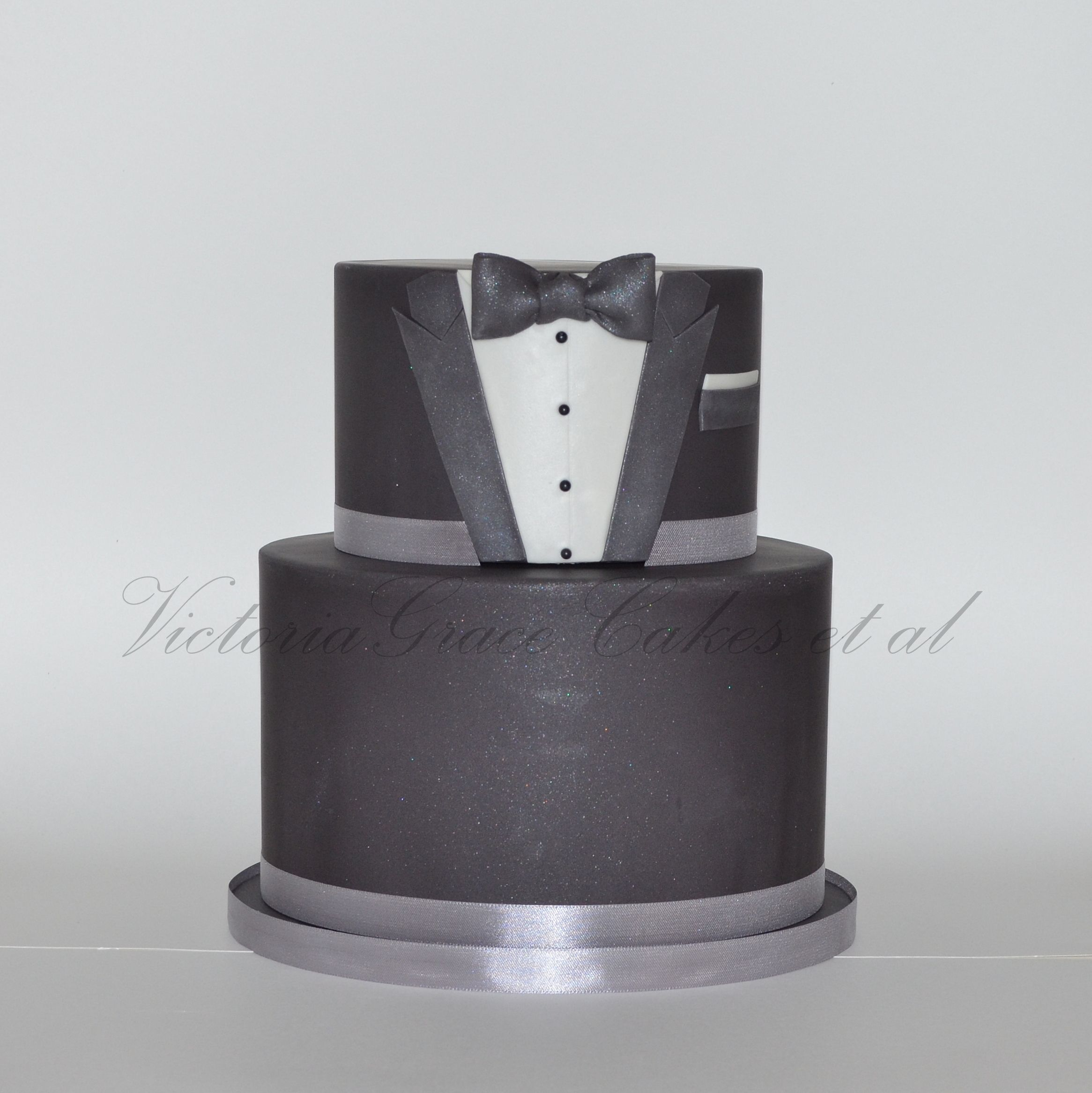 Tuxedo Cake I Really Enjoyed Making This Cake Design