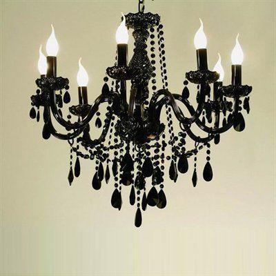 black crystal chandelier $520