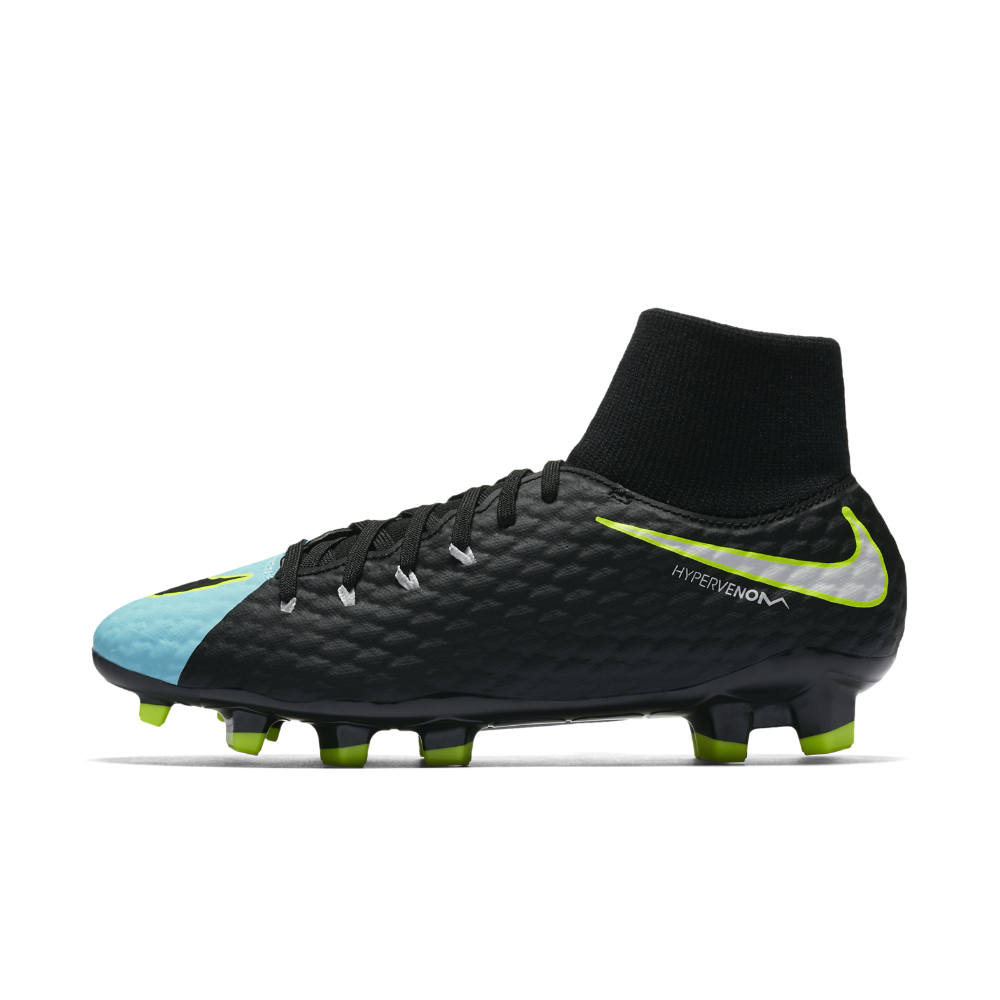 check out d7fd0 a8d48 Nike Hypervenom Phelon III Dynamic Fit Firm-Ground Soccer Cleats Size 10.5  (Blue)