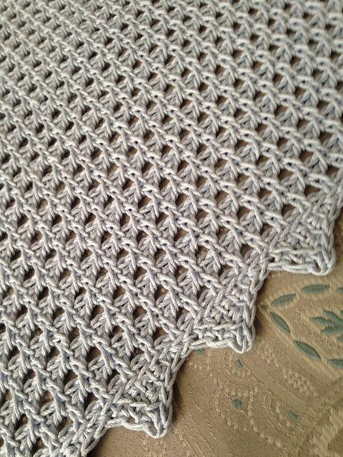 Volento Baby Blanket Pattern By Evelyn Desjardins The