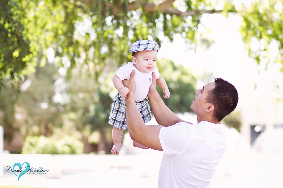 father son baby photography candid
