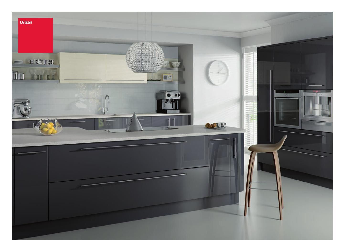 Sigma 9 Kitchens brochure   Grey gloss kitchen, Modern kitchen ...