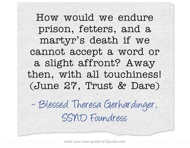 June 27, Trust & Dare
