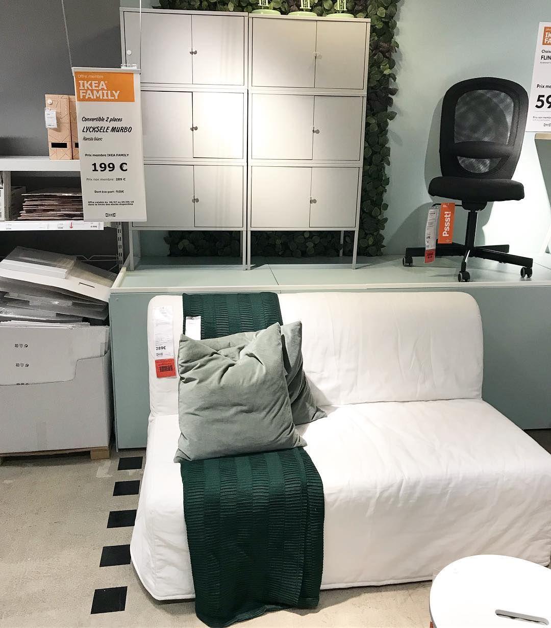 Super Offre A Ne Pas Manquer Dans Votre Magasin Ikea Strasbourg Le Canape Convertible Lycksele A 199 Au Lieu De 289 Avec Votre Cart Lycksele Sofa Bed Ikea